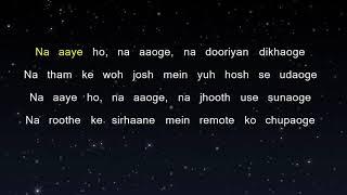 Jiyein Kyu - Dum Maaro Dum (Karaoke Version)