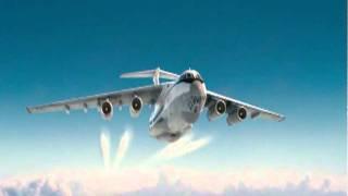 Ил-76   Илюша - грузовик - Анисимов(Ил-76 Экипаж : 7 человек Крейсерская скорость: 850 км/ч Дальность полёта: 6700 км Практический потолок: 14 500 м..., 2011-06-27T15:03:39.000Z)