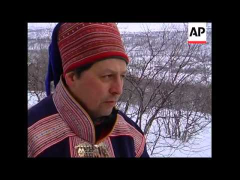 Sami people celebrate their national holiday