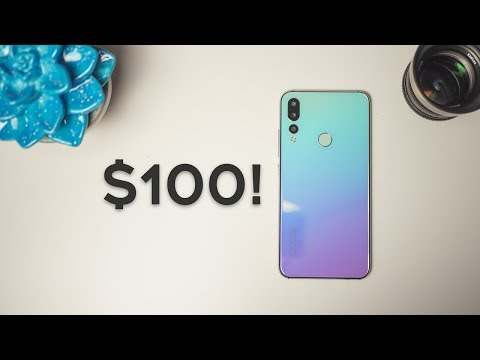The Best $100 Phone EVER - This Budget Smartphone Looks Like An IPhone X