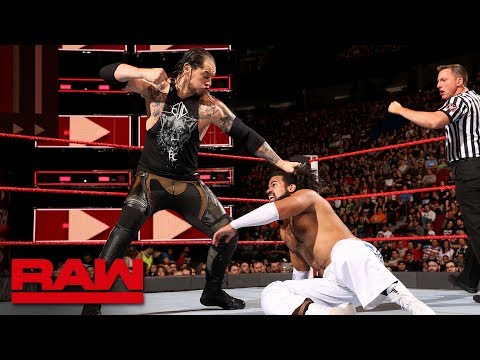 No Way Jose vs. Baron Corbin: Raw, April 30, 2018