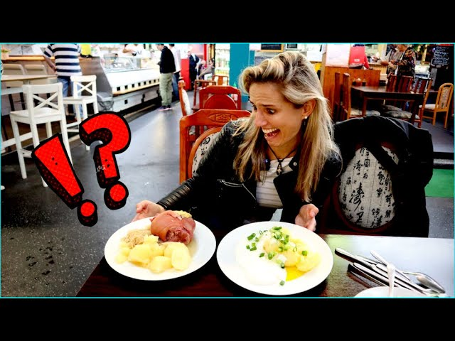 I show you TYPICAL (AND WEIRD!) GERMAN FOOD 🇩🇪