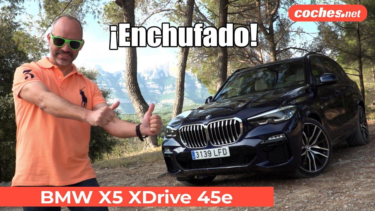 BMW X5 SUV 2021 | Prueba xDrive 45e PHEV / Review en español | coches.net