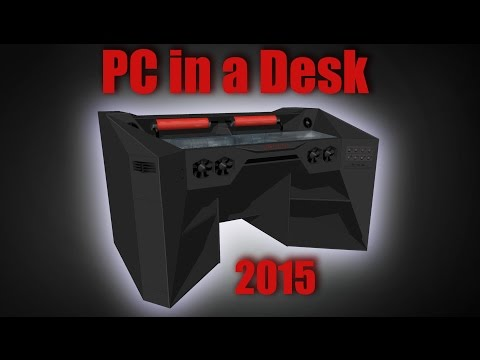 "ULTIMATE Gaming PC in a DESK - work-log 1 ""PHOTO SLIDE"""