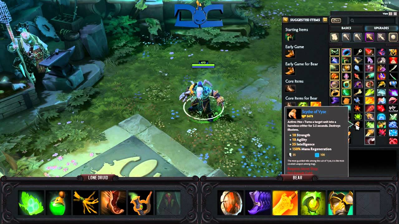 Dota 2 Guide Syllabear The Lone Druid YouTube