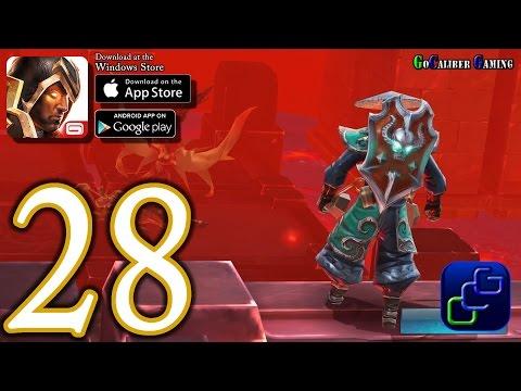 Dungeon Hunter 5 Android IOS Walkthrough - Part 28 - Solo Bounty 26-28 (HARD)