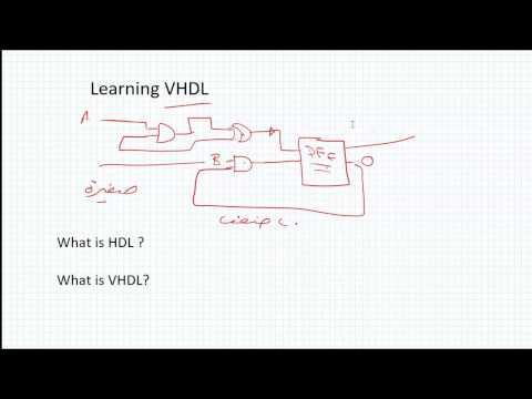 VHDL باللغة العربية .... المحاضرة الاولى