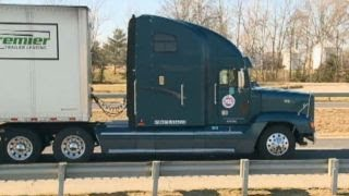 Runaway teen hitches ride on outside of semi for 55 miles