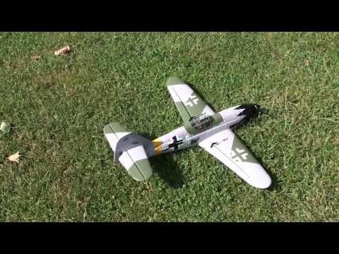 Messerschmitt BF 109 Hobbyking Around the Flightmodel