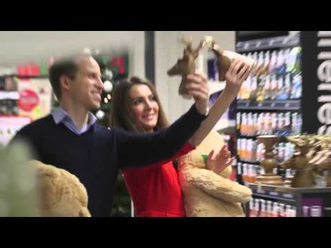 Duke and Duchess spotted Christmas shopping at discount store