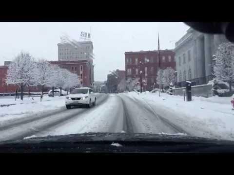 Snow Storm: LOLA | Downtown Lowell, MA | LEXUS IS250 | Oknha Meas