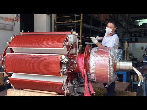 High Power Rotor Generator DC Rewinding and Modern Technology Automatic Rotor Production Machines