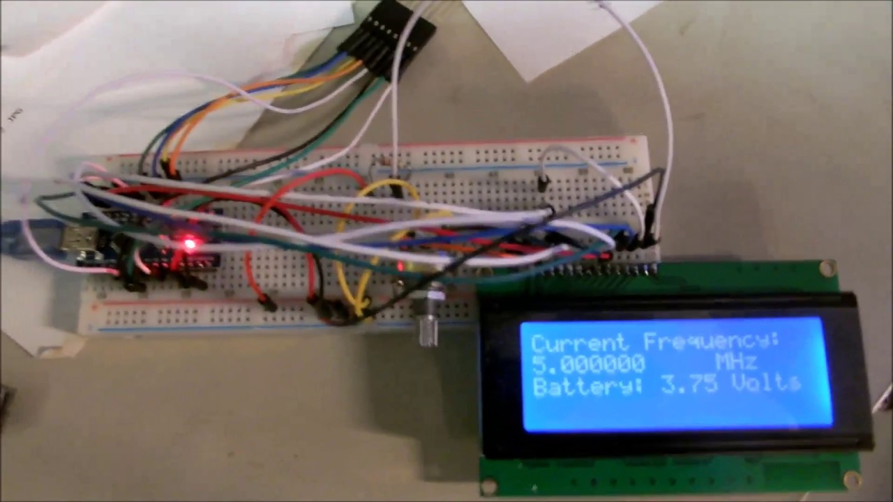 GPS Locked Frequency Standard Project