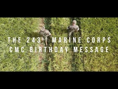 2018 CMC Birthday Message