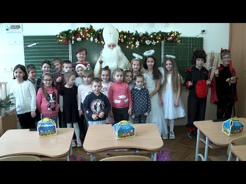 Kurier Galicyjski: Święty Mikołaj zawitał do szkoły nr 10 im. Św. Marii Magdaleny
