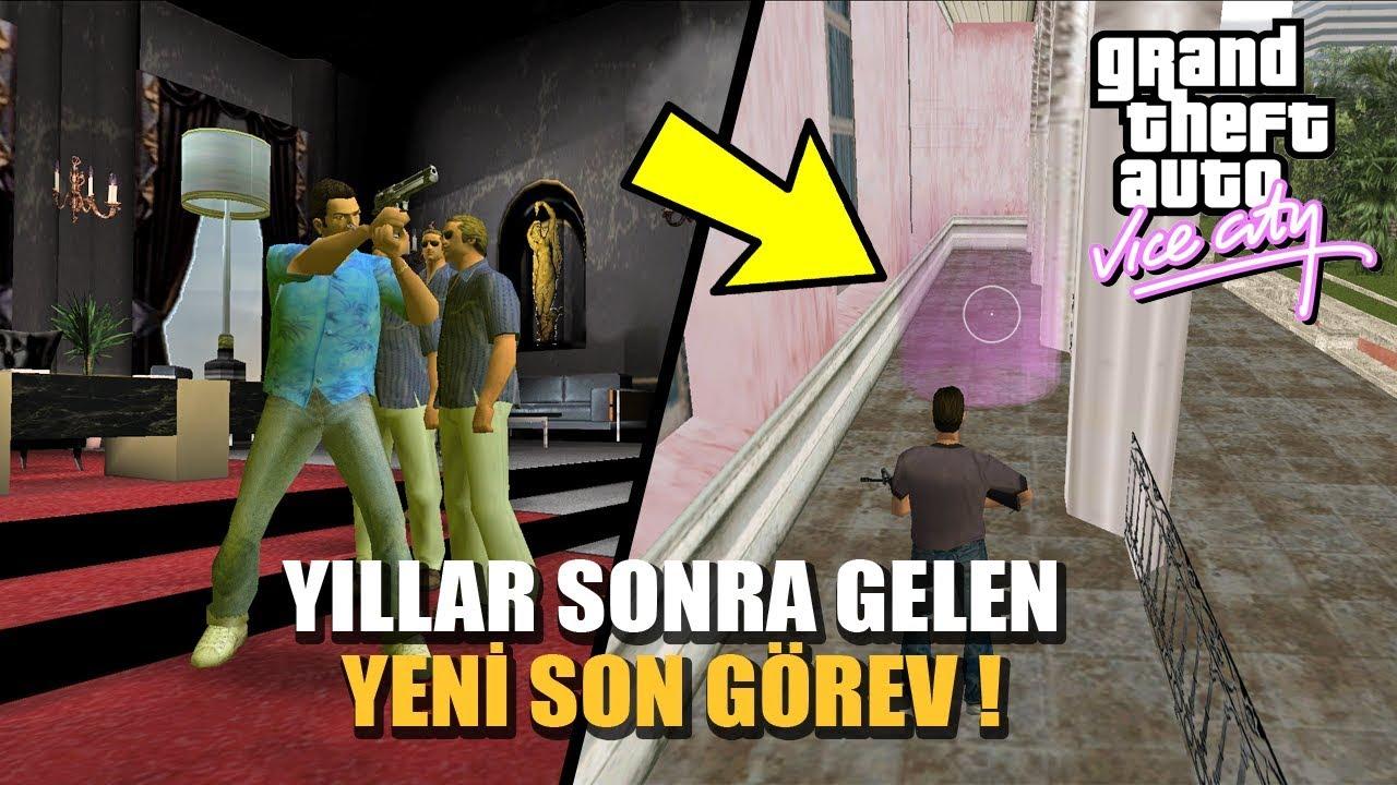 GTA VİCE CİTY'E YILLAR SONRA GELEN YENİ SON GÖREV!