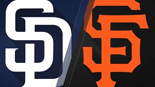 Pence's walk-off leads Giants to 3-2 win: 6/24/18