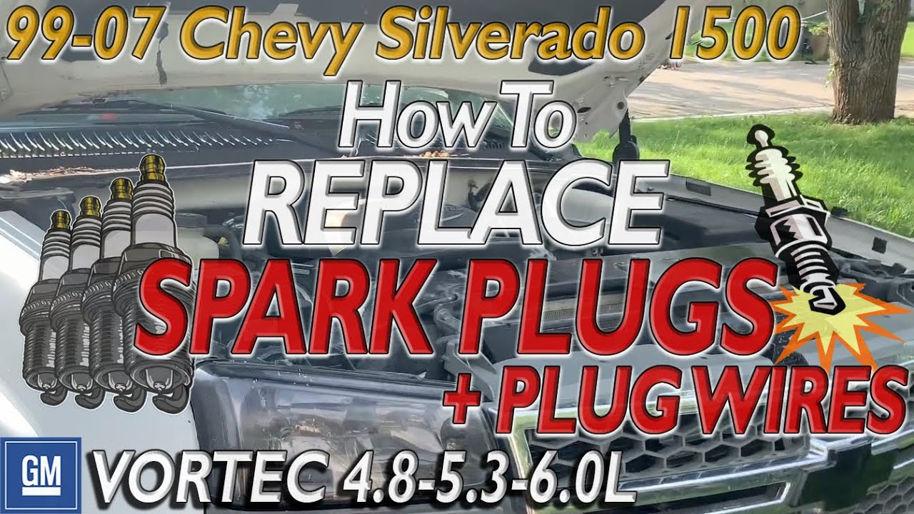 Spark Plugs And Wires >> CHEVY SILVERADO 1500 How To Change Spark Plugs and Wires 5 ...