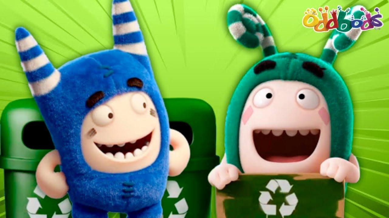 Oddbods | MỚI | Ngày Trái Đất 2020 | Phim Hoạt Hình Vui Nhộn Cho Trẻ Em