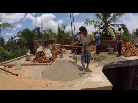 How to Mix Sand and Cement  By Hand