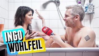 Nacktinterview mit Micaela Schäfer in der Badewanne