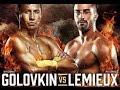 Геннадий Головкин - Давид Лемье Golovkin - Lemieux 8 round последний бой 18.10.2015