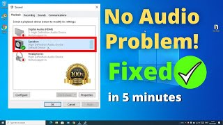 How to Fix Sound or Audio Problems in Windows 10