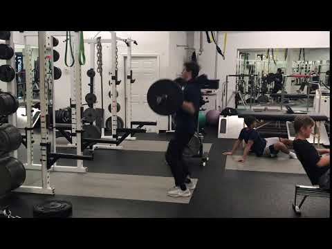Power Clean From Knees