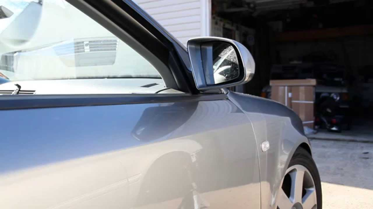 B6 B7 Audi A4 S4 Rs4 Side Mirror Glass Replacement Diy