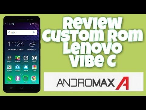 Custom Rom Lenovo Vibe C Di Andromax A - YouTube