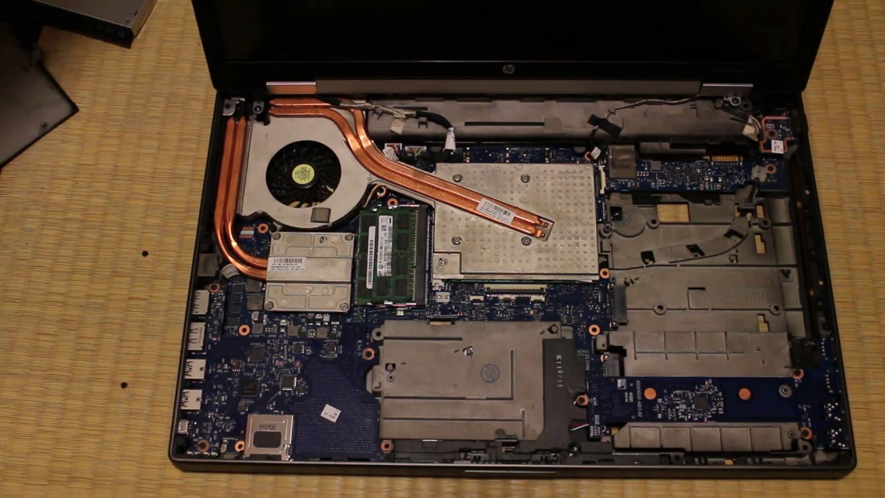 HP EliteBook 8760w/8770w Disassembly (for MXM GPU or CPU Replacement)