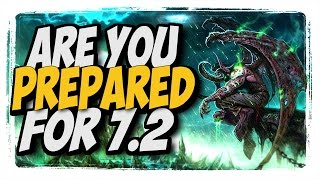 Get Ready for patch 7.2!! Arms Warrior pvp legion 7.1.5
