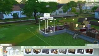 *The Sims 4* #4 - dvije nove prostorije,fasada na zidu i novi krov