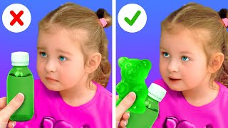 23 GENIUS HACKS FOR PARENTS || FUNNY PARENTING SITUATIONS