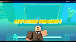 Roblox| Sunset cit| My FIRST VIDEO|and getting promoted.