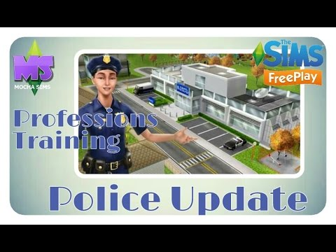 Download The Sims Freeplay - Police Update| Profession Training Quest