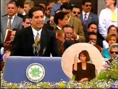 PEDRO ROSELLO TOMA DE POSESION 1993 (ARCHIVO HISTORICO)