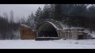 Поездка на заброшенные в лесу военные объекты(Видео о том, как мы съездили на некоторые заброшенные в лесу военные объекты: шар размером с дом и старый..., 2014-01-16T21:03:58.000Z)