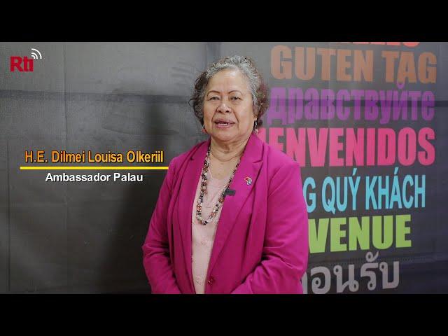 Amb. Dilmei Olkeriil discusses Taiwan-Palau travel bubble【央廣英語】