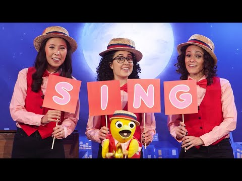Spell SING with Sunny Side Ups Emily, Carly, and Kaitlin  Universal Kids