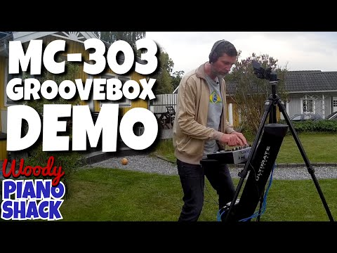 Roland MC-303 Groovebox (1997) demo and review