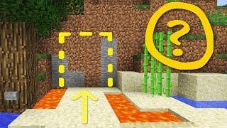 Minecraft: Cool Secret Door / Base Tutorial #2 How to Build a Hidden House