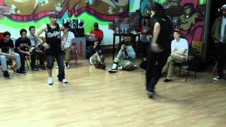 Down By Law 2 Top Rock Battle : Child vs Animal vs BBoy A.B.