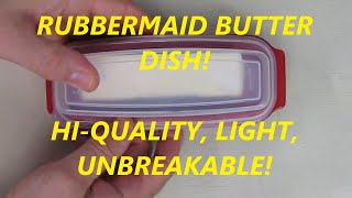 REVIEW Standard Butter Dish by Rubbermaid