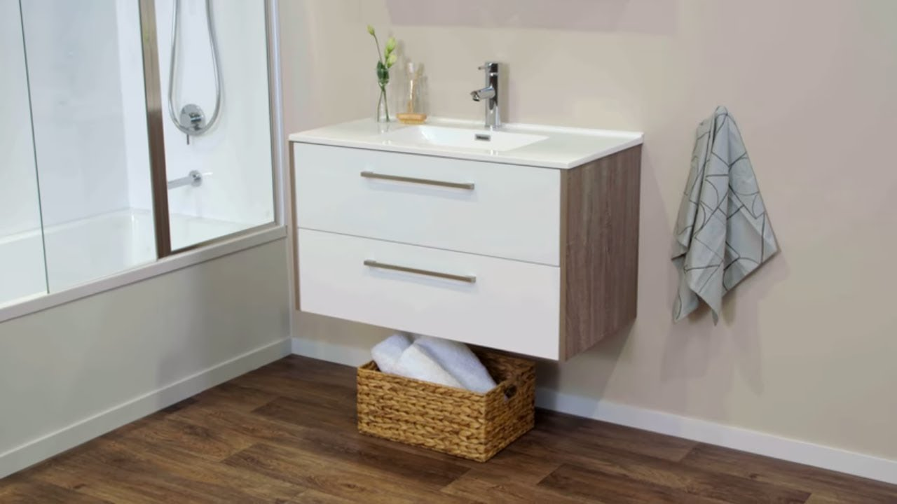 How To Install A Wall Hung Vanity Mitre 10 Easy As Diy Youtube