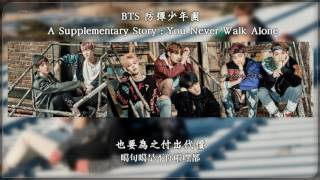 【認聲+中字+空耳】BTS 防彈少年團 - A Supplementary Story : You Never Walk Alone