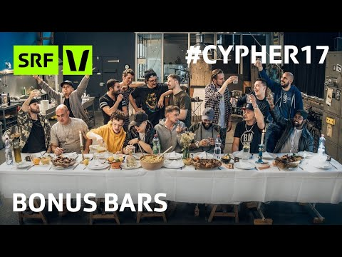#Cypher17 BONUS BARS