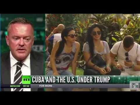 Cuba Ventures CEO Steve Marshall Interviewed On RT news.