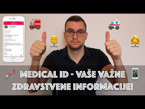 Medical ID na iOS - vaše važne zdravstvene informacije!