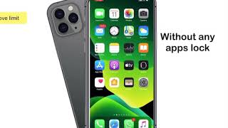 iphone 11 pro max feautures iphone app lock Lock apps without any app lock
